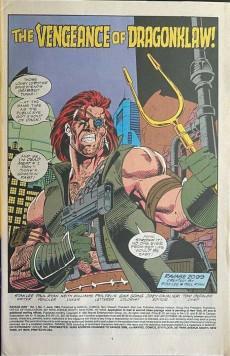 Extrait de Ravage 2099 (Marvel comics - 1992) -7- Dragonklaw vs. Ravage 2099
