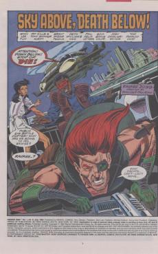 Extrait de Ravage 2099 (Marvel comics - 1992) -8- Sky Above, Death Below!