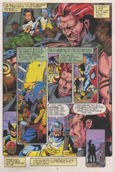 Extrait de Ravage 2099 (Marvel comics - 1992) -9- Everything You Know About Ravage 2099 is Wrong