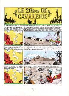 Extrait de Lucky Luke -27b88- Le 20ème de cavalerie