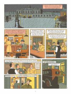 Extrait de Blake et Mortimer -21- Le Serment des cinq lords