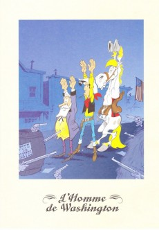 Extrait de Lucky Luke - Les Dessous d'une création (Atlas) -38- L'homme de Washington - Lucky Luke contre Pinkerton