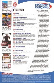 Extrait de Comic Box (1re série) -26- Comic Box 26