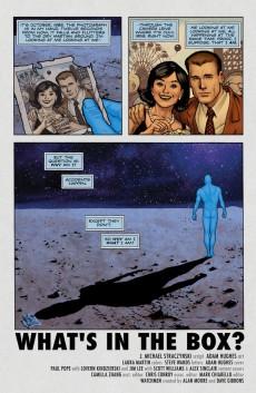 Extrait de Before Watchmen: Dr. Manhattan (2012) -1- Dr Manhattan 1 (of 4) - What's in the box ?