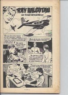Extrait de Ray Halcotan -10- Lutte à mort dans l'espace