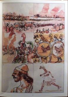 Extrait de (AUT) Pratt, Hugo (en italien) -TL- Nia histoire de l'homme à six jambes