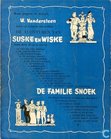 Extrait de Suske en Wiske -15- De bronzen sleutel