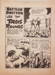 Extrait de Battler Britton -39- Les trois rounds