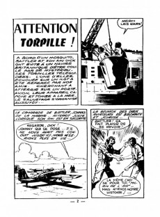 Extrait de Battler Britton -70- Attention torpille !