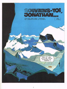 Extrait de Jonathan -1- Souviens-toi, Jonathan...