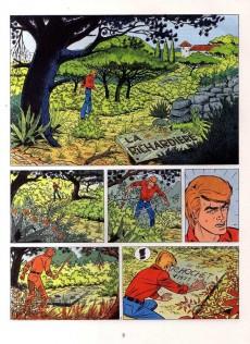 Extrait de Ric Hochet - La collection (Hachette) -27- L'épée sur la gorge