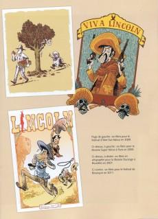 Extrait de Lincoln -HS1- Dix années d'illustrations