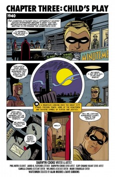 Extrait de Before Watchmen: Minutemen (2012) -3- Minutemen 3 (of 6) - Child's play
