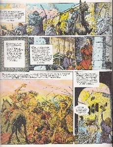 Extrait de Histoire de France en bandes dessinées -3- Charlemagne, les Vikings