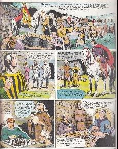 Extrait de Histoire de France en bandes dessinées -4- Hugues Capet, Guillaume le Conquérant