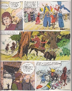 Extrait de Histoire de France en bandes dessinées -7- La chevalerie, Philippe le Bel