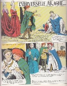 Extrait de Histoire de France en bandes dessinées -10- Louis XI, François 1er