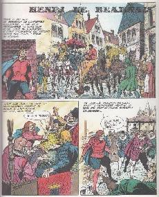 Extrait de Histoire de France en bandes dessinées -12- Henri IV, Louis XIII