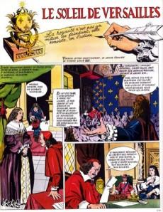 Extrait de Histoire de France en bandes dessinées -13- Louis XIV le roi soleil