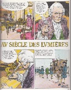 Extrait de Histoire de France en bandes dessinées -14- Louis XV, l'Indépendance américaine