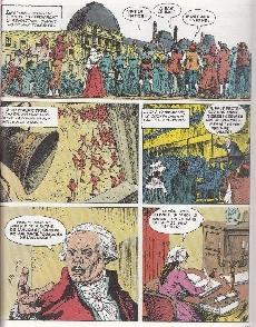 Extrait de Histoire de France en bandes dessinées -15- La Révolution