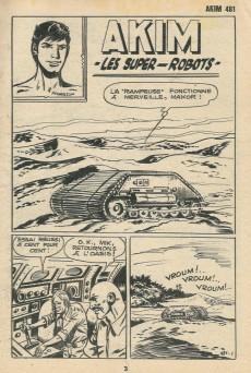 Extrait de Akim (1re série) -481- Les super-robots