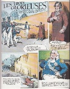 Extrait de Histoire de France en bandes dessinées -18- La Restauration, Louis Philippe