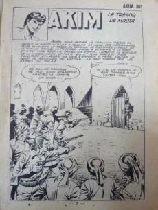 Extrait de Akim (1re série) -361- Le trésor de Maota