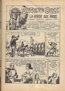 Extrait de Sitting Bull, le Napoléon rouge -1- Quand résonnent les tambours de guerre...