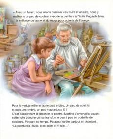 Extrait de Martine -49- Martine, la leçon de dessin