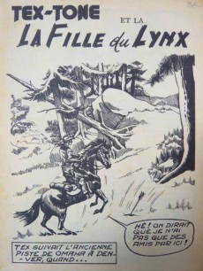 Extrait de Tex-Tone -206- Dangereux charlatan