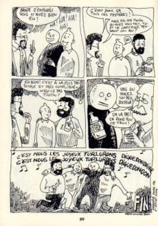 Extrait de Tintin - Pastiches, parodies & pirates -RL2- Tintin au Bongo