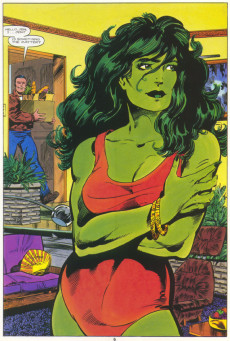 Extrait de Marvel Graphic Novel (Marvel comics - 1982) -18- The Sensational She-Hulk