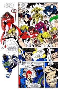 Extrait de Best of Marvel -33- Avengers/X-Men : Liens du sang