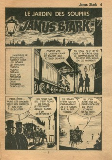 Extrait de Janus Stark -4- le jardin des soupirs