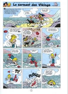 Extrait de Johan et Pirlouit -5g- Le serment des vikings