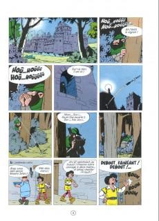 Extrait de Johan et Pirlouit -7e86- La flèche noire