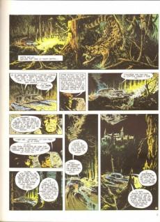 Extrait de Bob Morane 2 (Dargaud) -14a1977- La prisonnière de l'ombre jaune