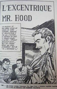 Extrait de Télé série bleue (Les hommes volants, Destination Danger, etc.) -7- Les hommes volants - L'excentrique Mr. Hood