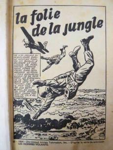 Extrait de Télé série bleue (Les hommes volants, Destination Danger, etc.) -3- Les hommes volants - La folie de la jungle