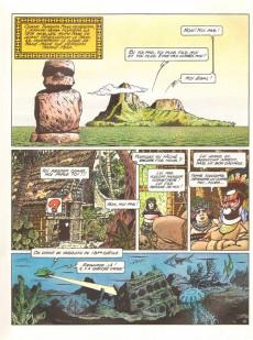 Extrait de Marc Mathieu (Une aventure de) -6- Le retour de Tangata Manu