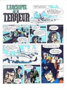 Extrait de Bob Morane 2 (Dargaud) -15a74- L'archipel de la terreur