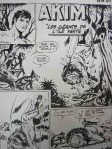 Extrait de Akim (1re série) -531- Les géants de l'île verte