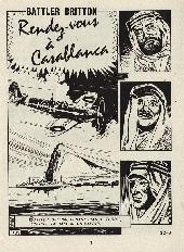 Extrait de Battler Britton -421- Rendez-vous à Casablanca