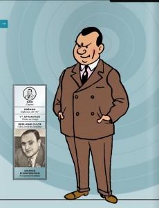 Extrait de Tintin - Divers -61'''- Les Personnages de Tintin dans l'Histoire (vol. 2)