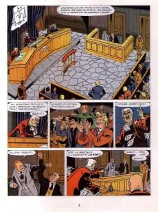 Extrait de Ric Hochet - La collection (Hachette) -32- Tribunal noir