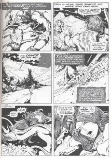 Extrait de Savage sword of Conan (The) (intégrale Dark Horse)) -INT01- Volume One
