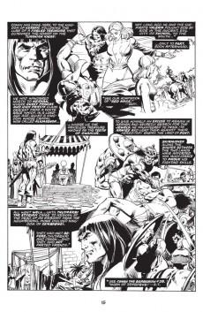 Extrait de Savage sword of Conan (The) (intégrale Dark Horse)) -INT03- Volume Three