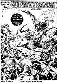 Extrait de Savage sword of Conan (The) (intégrale Dark Horse)) -INT04- Volume Four