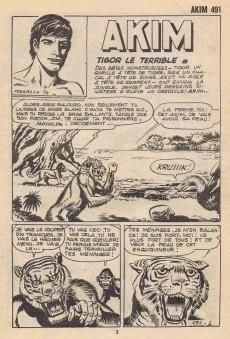 Extrait de Akim (1re série) -491- Tigor le terrible